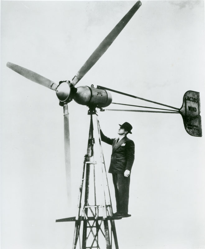 History   Jacobs Wind Electric